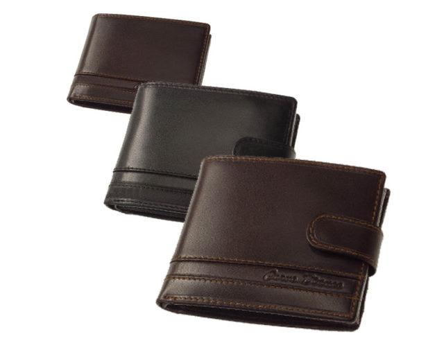 Csíkbetétes Corvo Bianco pénztárca CCS kollekció