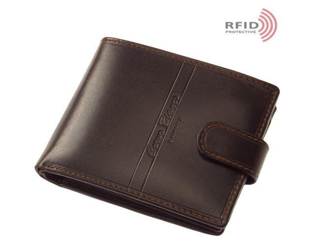 """Exkluzív Corvo Bianco pénztárca RFID védelemmel """"RCBS"""""""