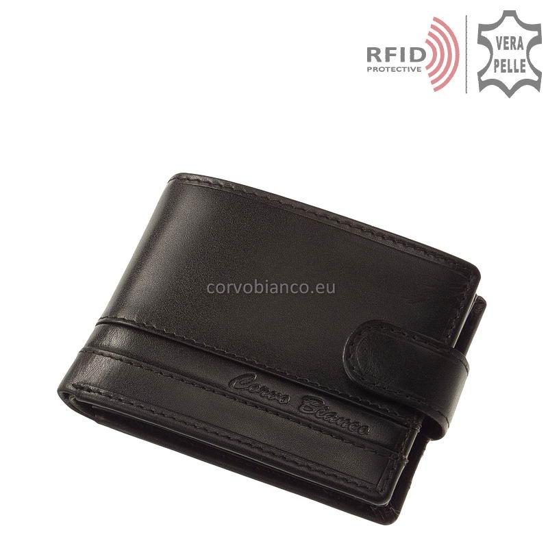 Corvo Bianco RFID pénztárca RCCS09T fekete