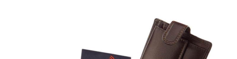 Csíkbetétes Corvo Bianco RFID pénztárca RCCS kollekció