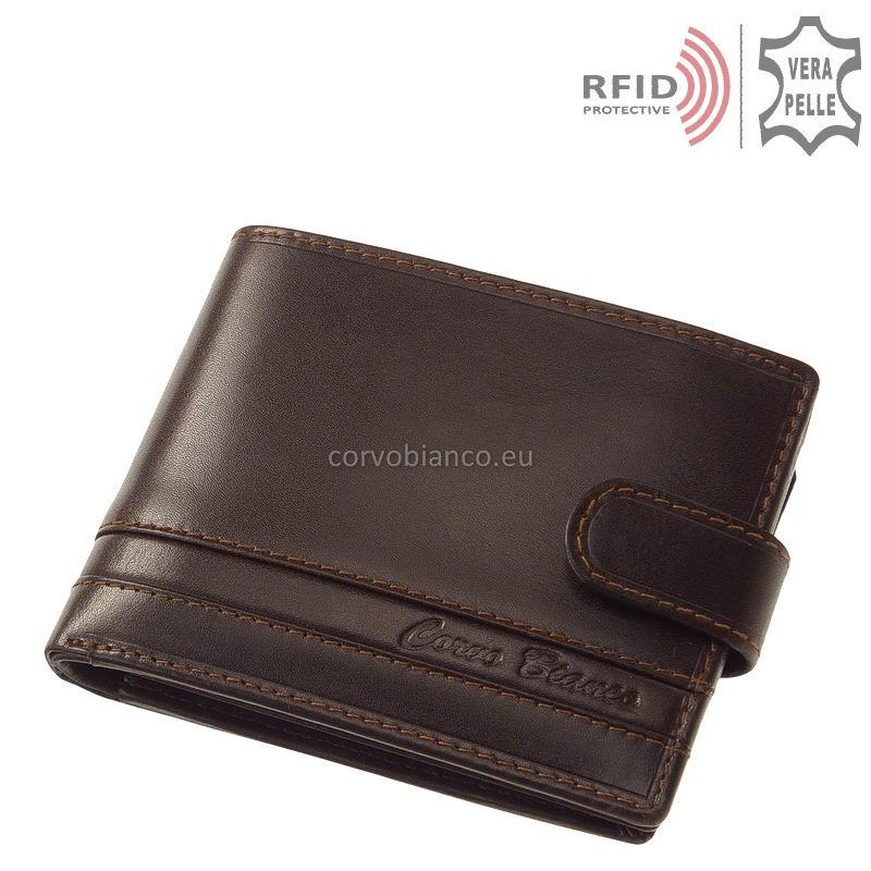 Corvo Bianco RFID pénztárca RCCS09T barna