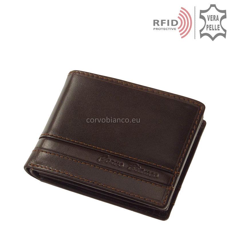 Corvo Bianco RFID pénztárca RCCS1021 fekete