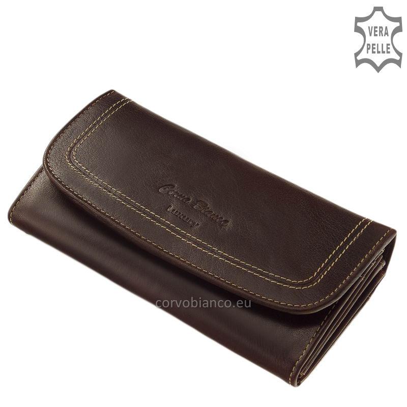 Corvo Bianco rusztikus felületű női pénztárca BV02