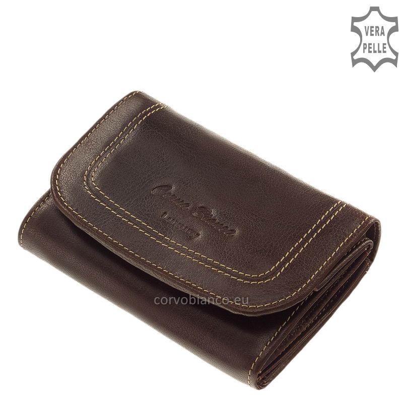 Corvo Bianco rusztikus felületű női pénztárca BV068