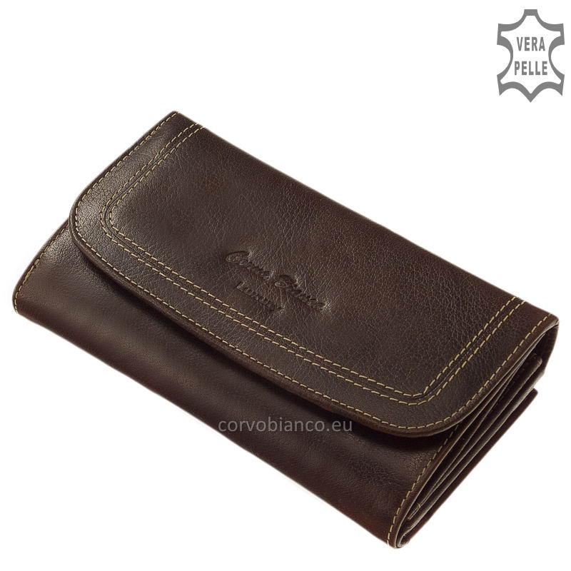 Corvo Bianco rusztikus felületű női pénztárca BV155